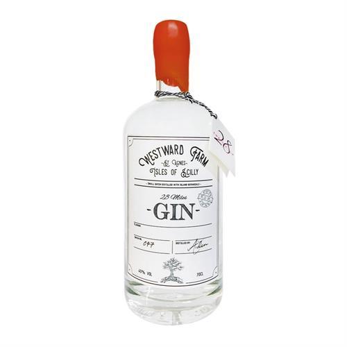 Westward Farm 28 Miles Oak Aged Gin 70cl Image 1