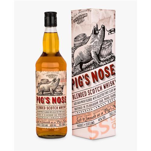 Pig's Nose Blended Whisky 70cl Image 1