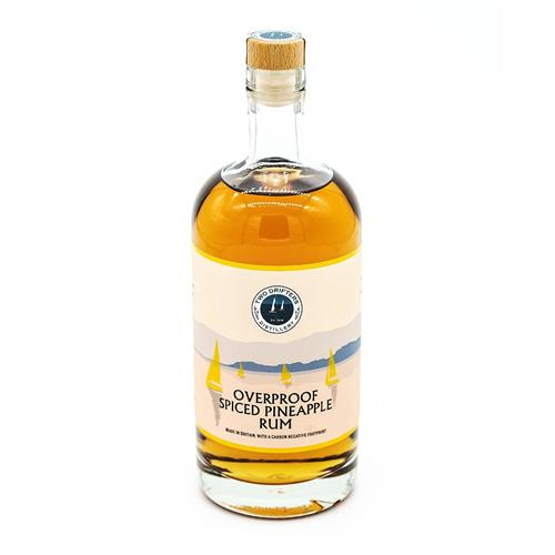 Two Drifters Overproof Spiced Pineapple Rum 70cl Image 1