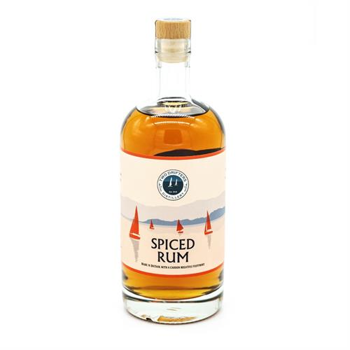 Two Drifters Spiced Rum 70cl Image 1