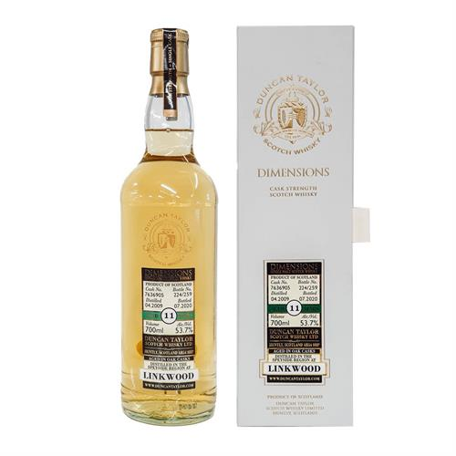 Linkwood 11 Year Old Dimensions 2009 53.7% 70cl Image 1