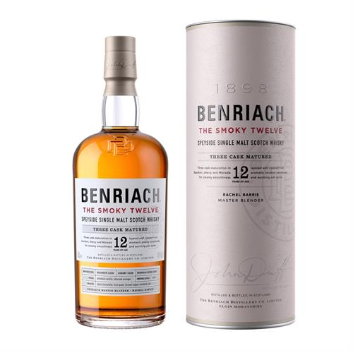 Benriach The Smoky Twelve 12 Year Old 70cl Image 1