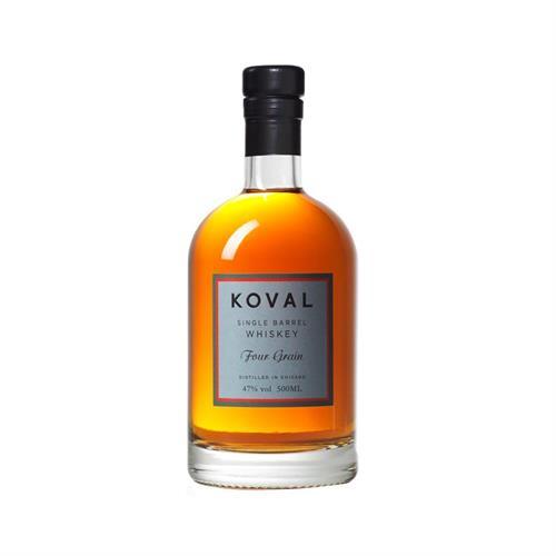 Koval Four Grain American Single Barrel Whiskey 50cl Image 1