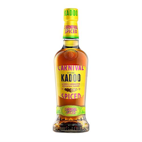Grand Kadoo Carnival Spiced Rum 70cl Image 1