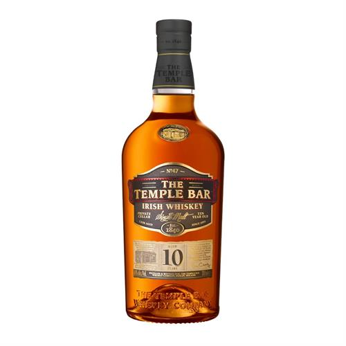The Temple Bar Single Malt 10 Year Old 70cl Image 1