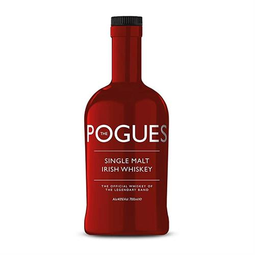 The Pogues Irish Single Malt Whiskey (Red) 70cl Image 1