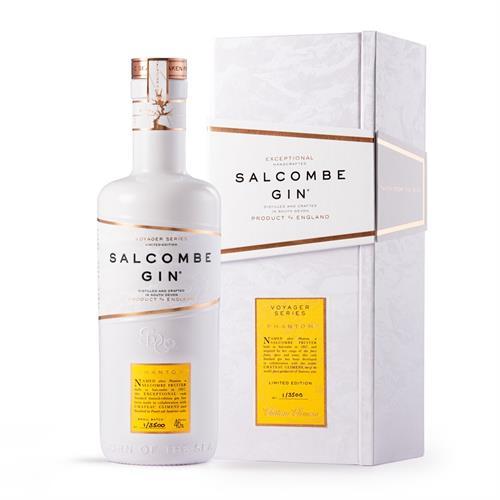 Salcombe Gin Voyager Series 'Phantom' Gin 50cl Image 1