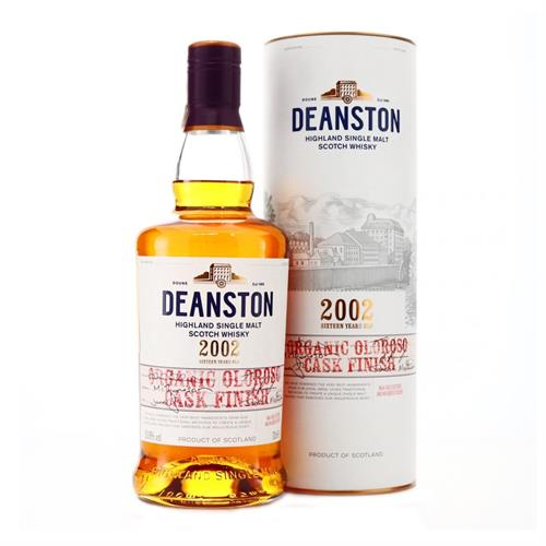 Deanston 16 Year Old 2002 Organic Oloroso Cask Finish 70cl Image 1