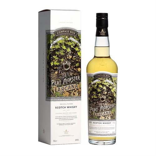 Compass Box The Peat Monster Arcana 20th Anniversary 70cl Image 1