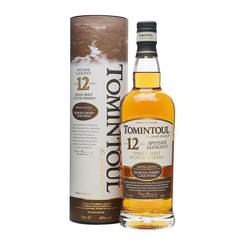 Tomintoul 12 Year Old Oloroso Sherry Cask 70cl Image 1