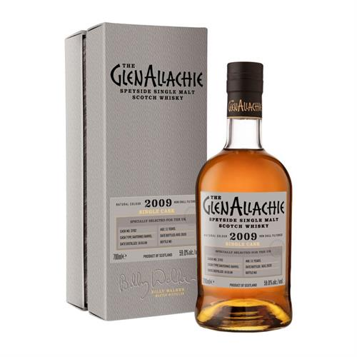 GlenAllachie 2009 Cask No. 3728 11 Year Old 59.0% 70cl Image 1
