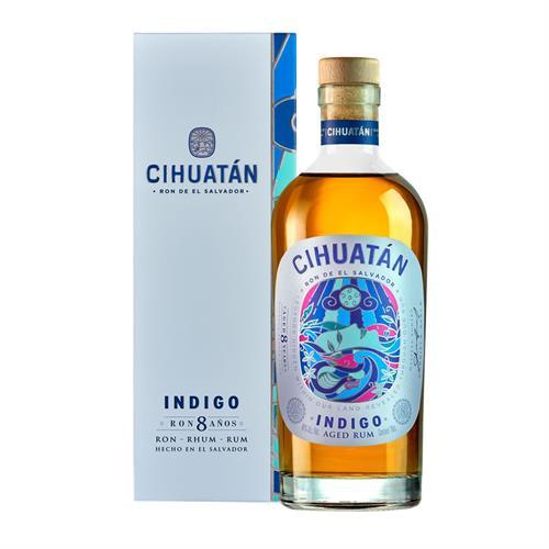 Cihuatan Indigo 8 Year Old Rum 70cl Image 1
