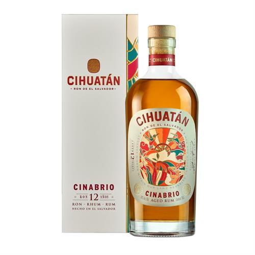 Cihuatan Cinabrio 12 Year Old Rum 70cl Image 1