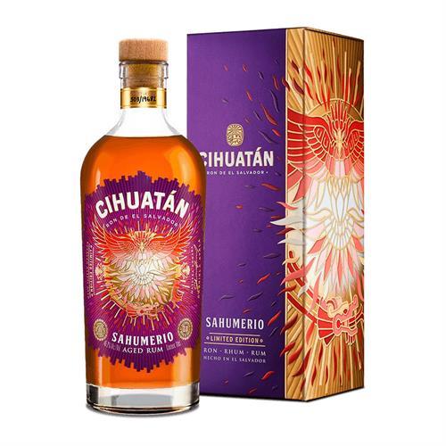 Cihuatan Sahumerio Limited Edition Rum 70cl Image 1