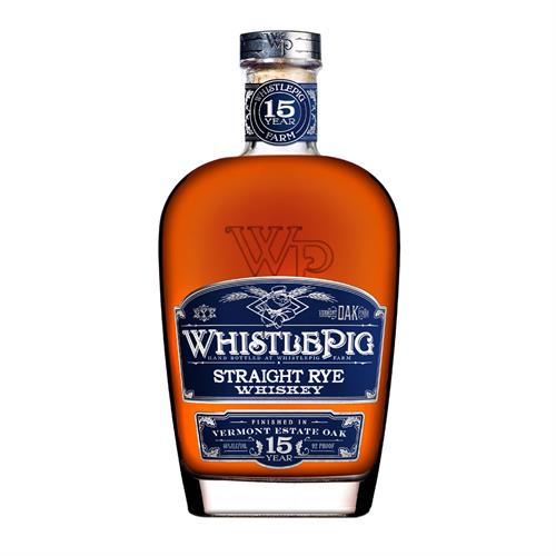 WhistlePig 15 Year Old Vermont Oak Finish Rye 75cl Image 1