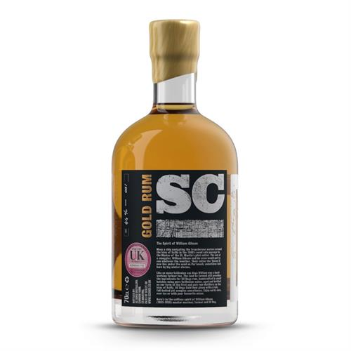 SC Dogs 'The Spirit of William Gibson' Gold Rum 70cl