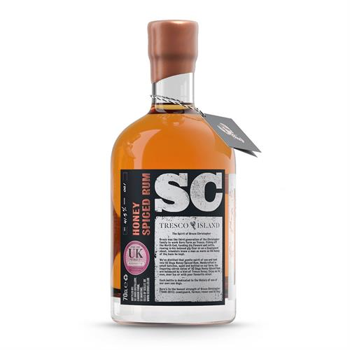 SC Dogs 'The Spirit of Bruce Christopher' Honey Spiced Rum 70cl