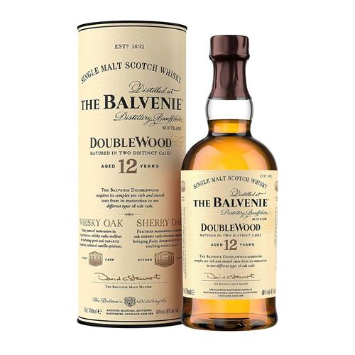 The Balvenie Double Wood 12 Year Old 70cl Image 1