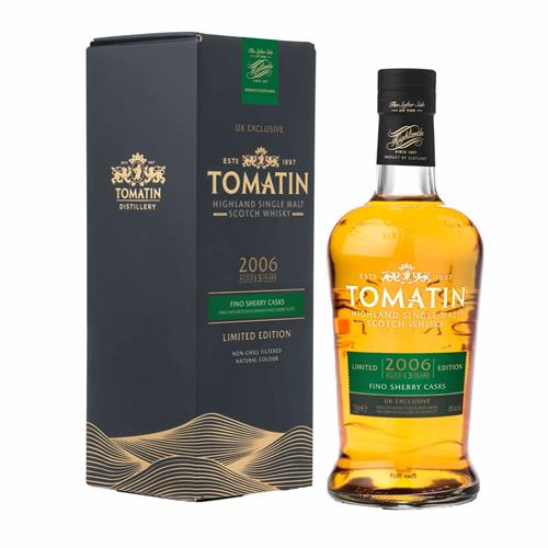 Tomatin 2006 13 Year Old Fino Sherry Cask Finish 70cl Image 1