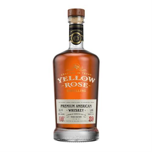 Yellow Rose Premium American Whiskey 70cl Image 1