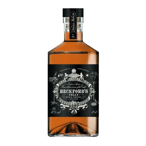 Beckford's 'Folly' Caramel Rum 40% 70cl Image 1