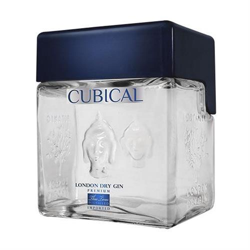 Cubical London Dry Gin Premium 40% 70cl Image 1