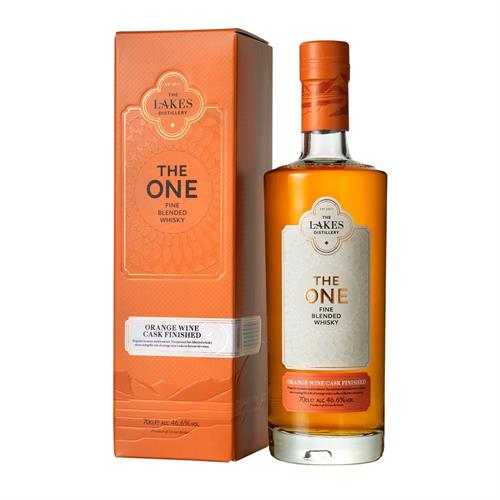 The Lakes Distillery The One Orange Wine Cask Finished Blend 70cl Image 1