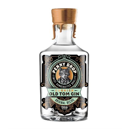 Penny Drop Cornish Old Tom Gin 70cl Image 1