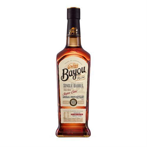 Bayou Single Barrel Dark Rum 70cl Image 1