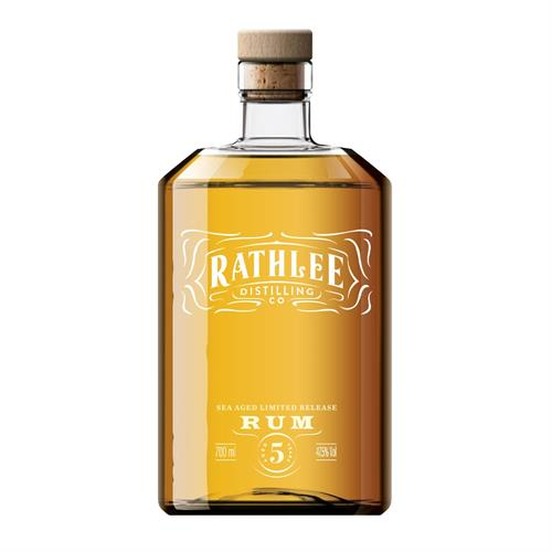 Rathlee Sea Aged Limited Edition Rum 70cl Image 1