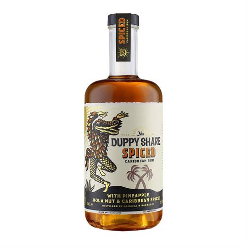 The Duppy Spiced Rum 70cl Image 1