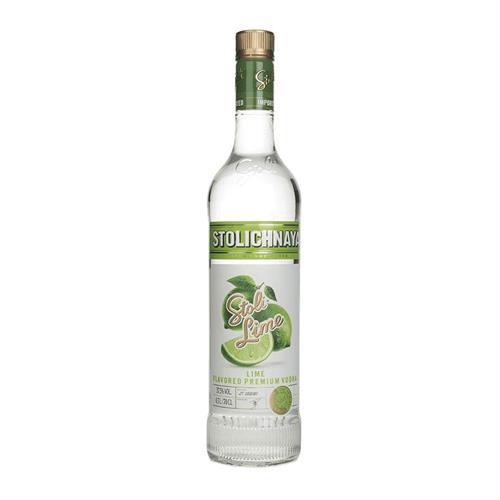 Stolichnaya Lime Flavoured Vodka 70cl Image 1